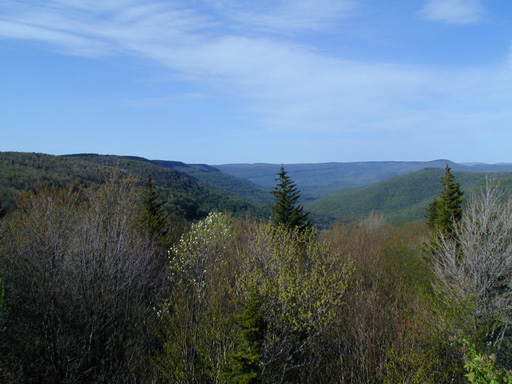 From the Highland Scenic Highway
