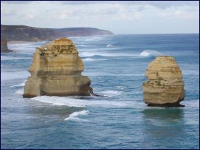 Coast Along Great Ocean Road